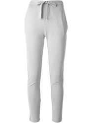 Mm6 By Maison Martin Margiela Tie Ribbon Skinny Trousers Grey