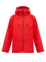 Goldwin Arris Hooded Ski Jacket Red