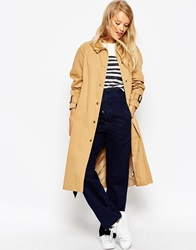 Asos Mac In Midi Length With Heritage Contrast Stone