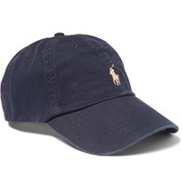 Polo Ralph Lauren Cotton Twill Baseball Cap Navy