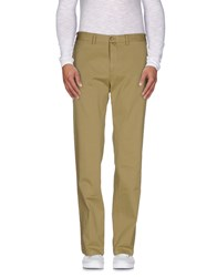 Gant Trousers Casual Trousers Men Military Green