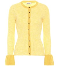 Baum Und Pferdgarten Charlott Cotton Blend Cardigan Yellow