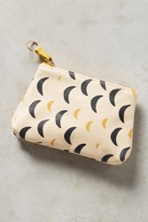 Anthropologie Nuit Mini Pouch Ivory