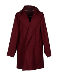 Pigalle Full Length Jackets Maroon