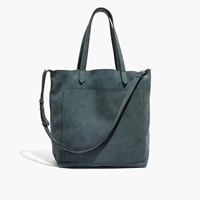 Madewell The Medium Transport Tote Bag In Midnight Spruce