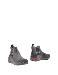 2 Made In Italy Ankle Boots Grey
