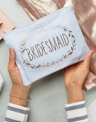 Paperchase Wedding Team Bridesmaid's Pouch Multi