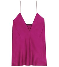 Haider Ackermann Silk Camisole Purple