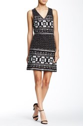 Romeo And Juliet Couture Keyhole Beaded Short Dress Black