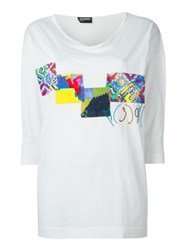Missoni Vintage Patched T Shirt White