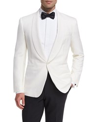 Ralph Lauren Anthony Wool Dinner Jacket White