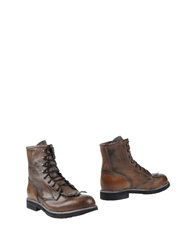 Happiness Ankle Boots Brown