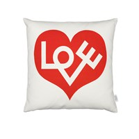Vitra Graphic Love Cushion 40X40cm Red