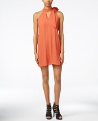 Bar Iii Keyhole Neck A Line Dress Only At Macy's Cathay Spice