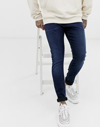 G Star Revend Skinny Fit Jeans In Indigo Navy