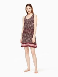 Kate Spade Coronado Beach Cover Up Sumac Red