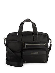 Diesel Superrgear Briefcase Bag Black