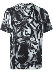 Paul Smith Ps By Animal Print T Shirt Black