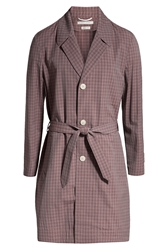 Marc Jacobs Checked Wool Trench Coat