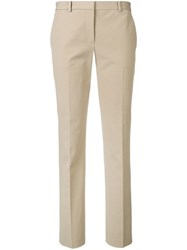 Theory Tailored Trousers Neutrals