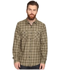 Hurley Cascade Dri Fit Flannel Cargo Khaki Men's Clothing