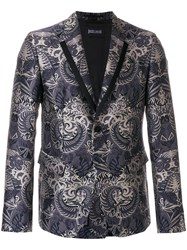 Just Cavalli Printed Style Jacket Grey