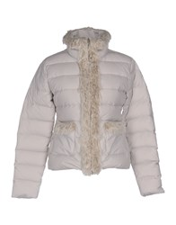 Bomboogie Coats And Jackets Down Jackets Light Grey