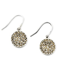 Kenneth Cole New York Earrings Marcasite Accent