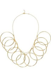 Arme De L'amour Halo Gold Plated Necklace Gold