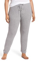 Pj Salvage Plus Size Peachy Jogger Lounge Pants H Grey