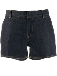 Dsquared2 Fitted Denim Shorts Blue