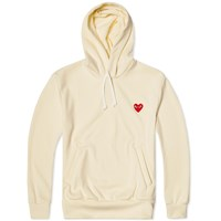 Comme Des Garcons Play Pullover Hoody White