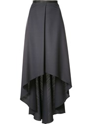 Brunello Cucinelli Mid Length Pleated Skirt Black