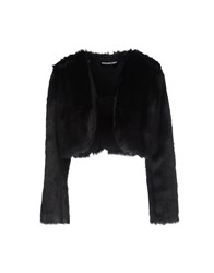 Marco Bologna Coats And Jackets Faux Furs Black