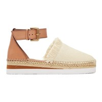 See By Chloe Off White Glyn Espadrilles