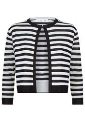 Damsel In A Dress Stripey Cardigan Black