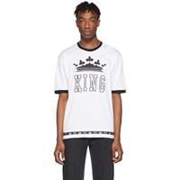 Dolce And Gabbana White King T Shirt