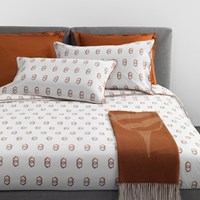 Trussardi Tie Duvet Cover Set Cuoio King