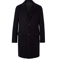 Tomorrowland Wool Blend Overcoat Blue
