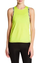 Maaji Lemony Player Tank Green