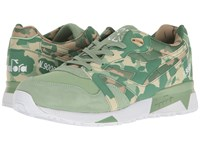 Diadora N9000 Camo Golf Club Green Athletic Shoes