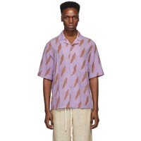 Acne Studios Pink Simon Short Sleeve Shirt
