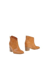 Fabi Ankle Boots Brown