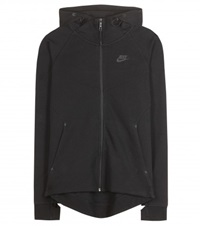 Nike Tech Fleece Cotton Blend Jacket Black
