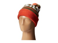 Quiksilver Summit Beanie Mandarin Red Beanies Orange