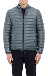 Armani Collezioni Quilted Down Reversible Jacket Colorless