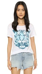 Chaser Tiger Tee White
