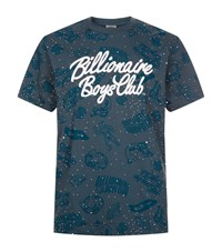 Billionaire Boys Club Galaxy Print T Shirt Male Peacock