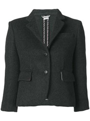 Thom Browne Military Weight Cashmere Sport Coat Grey