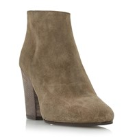 Dune Patina Casual Ankle Boots Mink